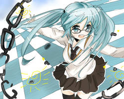 Miku Hatsune by xxMontBlancxx