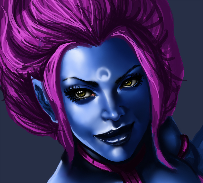 LoL Evelynn Sketch by Darkjet9