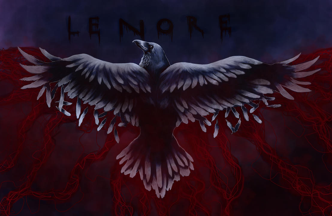 The Raven - Nevermore by Darkjet9