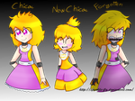 Five Nights At Freddy's: Human Chica