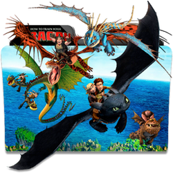 How To Train Your Dragon Folder Icon By Dahlia069