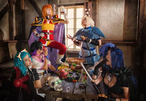 Slayers in the inn