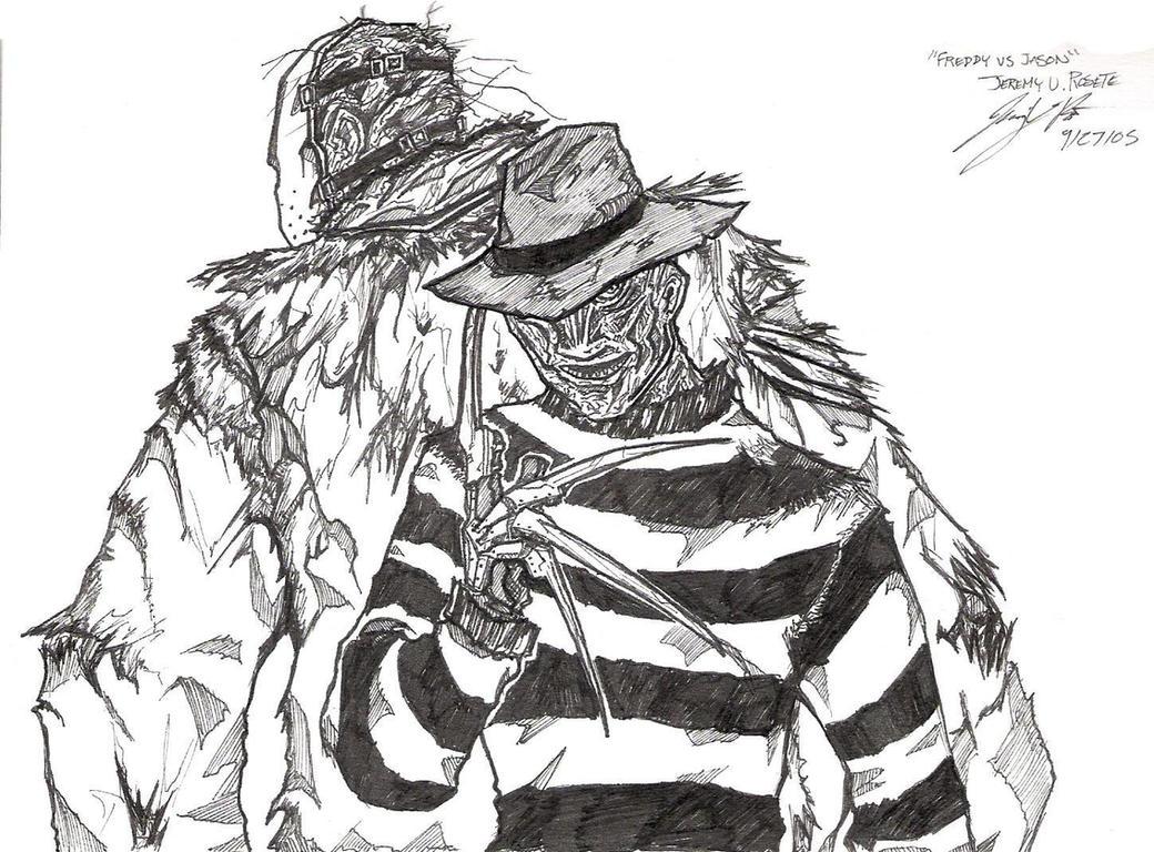 predator vs jason coloring pages - photo#17