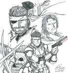 All In The Family - Metal Gear