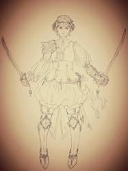 Character Study I by tshuax