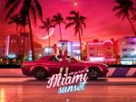 Miami Sunset with Gigi Hadid