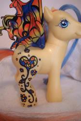 Hippy Fairy Pony by AdeCiroDesigns