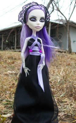Custom Spectra Monster High Doll