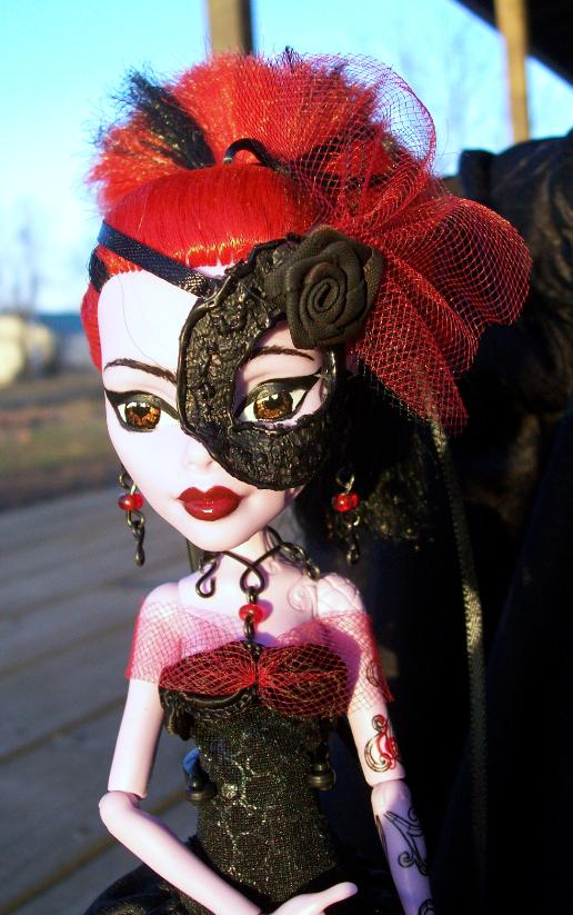 Custom Operetta Monster High Gothic Doll 2 by AdeCiroDesigns