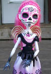 Day of the Dead Monster high Custom Cupid