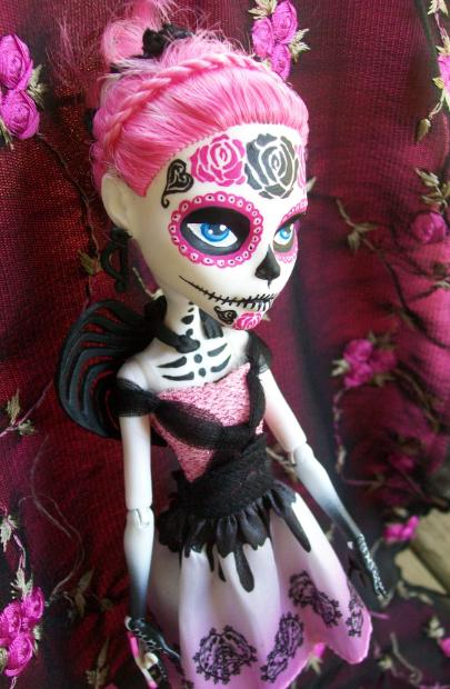Monster High Day of the dead Cupid by AdeCiroDesigns