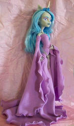 Monster High Custom Ghoulia Unicorn Medieval OOAK by AdeCiroDesigns