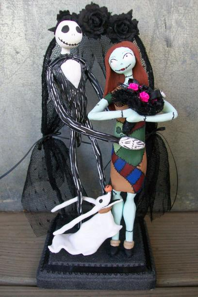 Nightmare Before Christmas Cake Topper by AdeCiroDesigns on DeviantArt