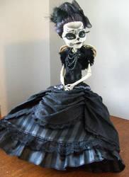 Monster High Custom Day of the dead skelita