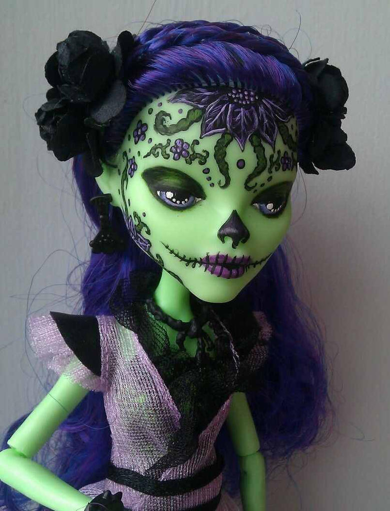 Amanita Nightshade monster high custom by AdeCiroDesigns