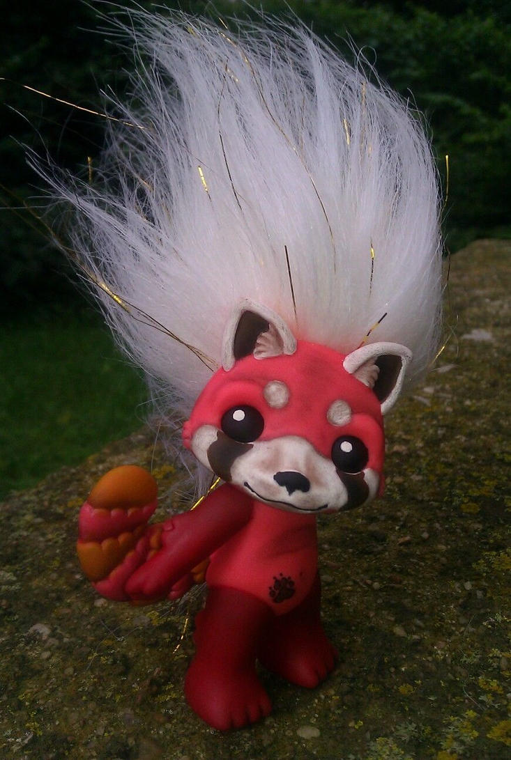 Zelf custom repaint ooma red panda repaint by AdeCiroDesigns