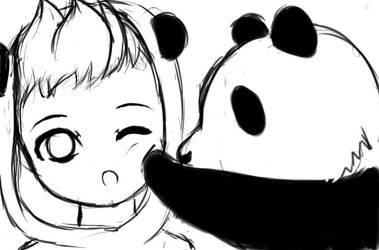 For Panda-kun by UniicornSama