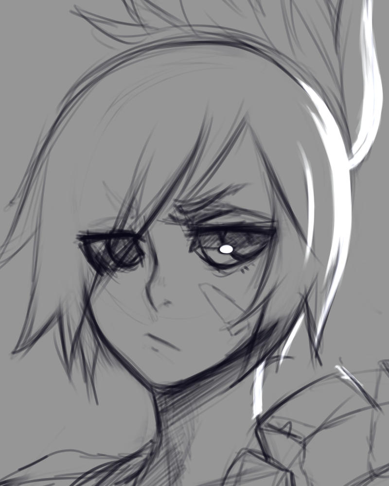 sketch - RIVEN by Foraster0