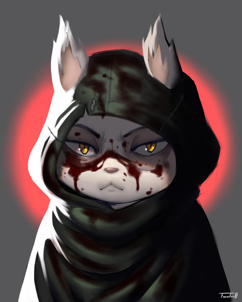 LOL - Teemo Omega Squad Blood by Foraster0