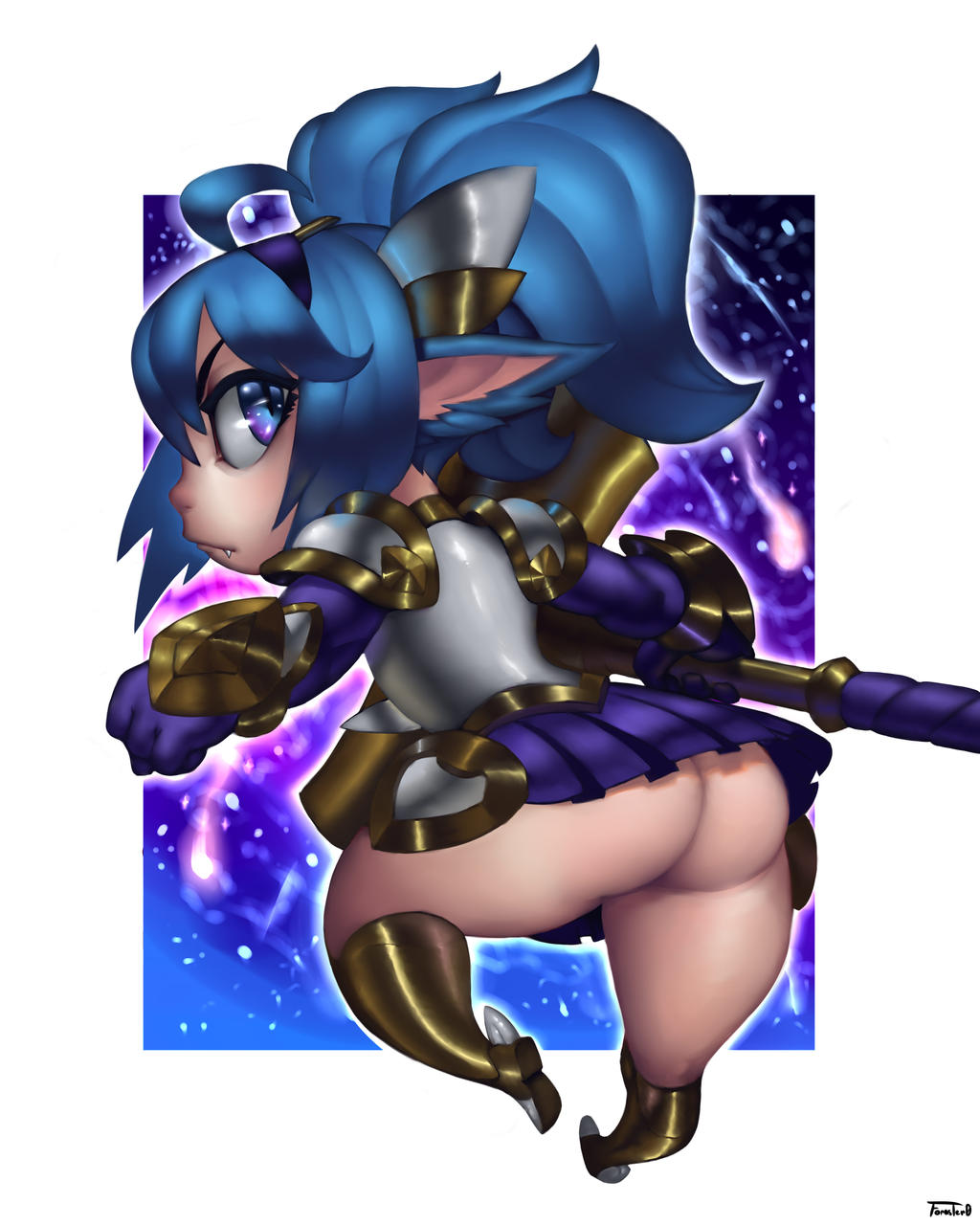 LOL - star Guardian Poppy by Foraster0
