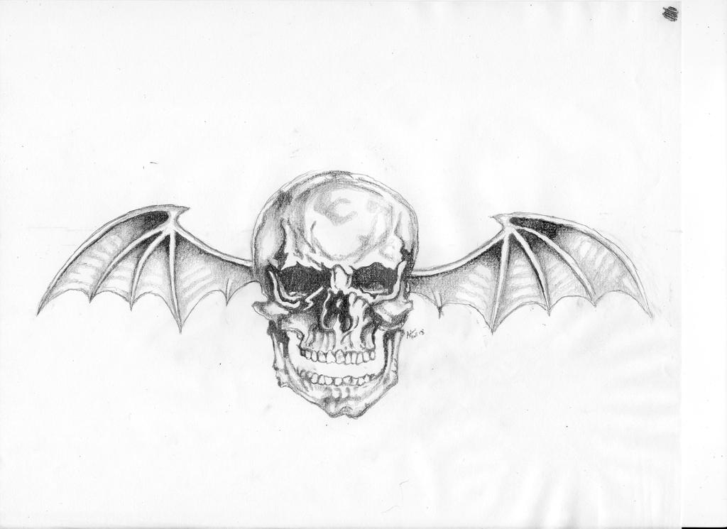 Avenged sevenfold deathbat by frenchy34