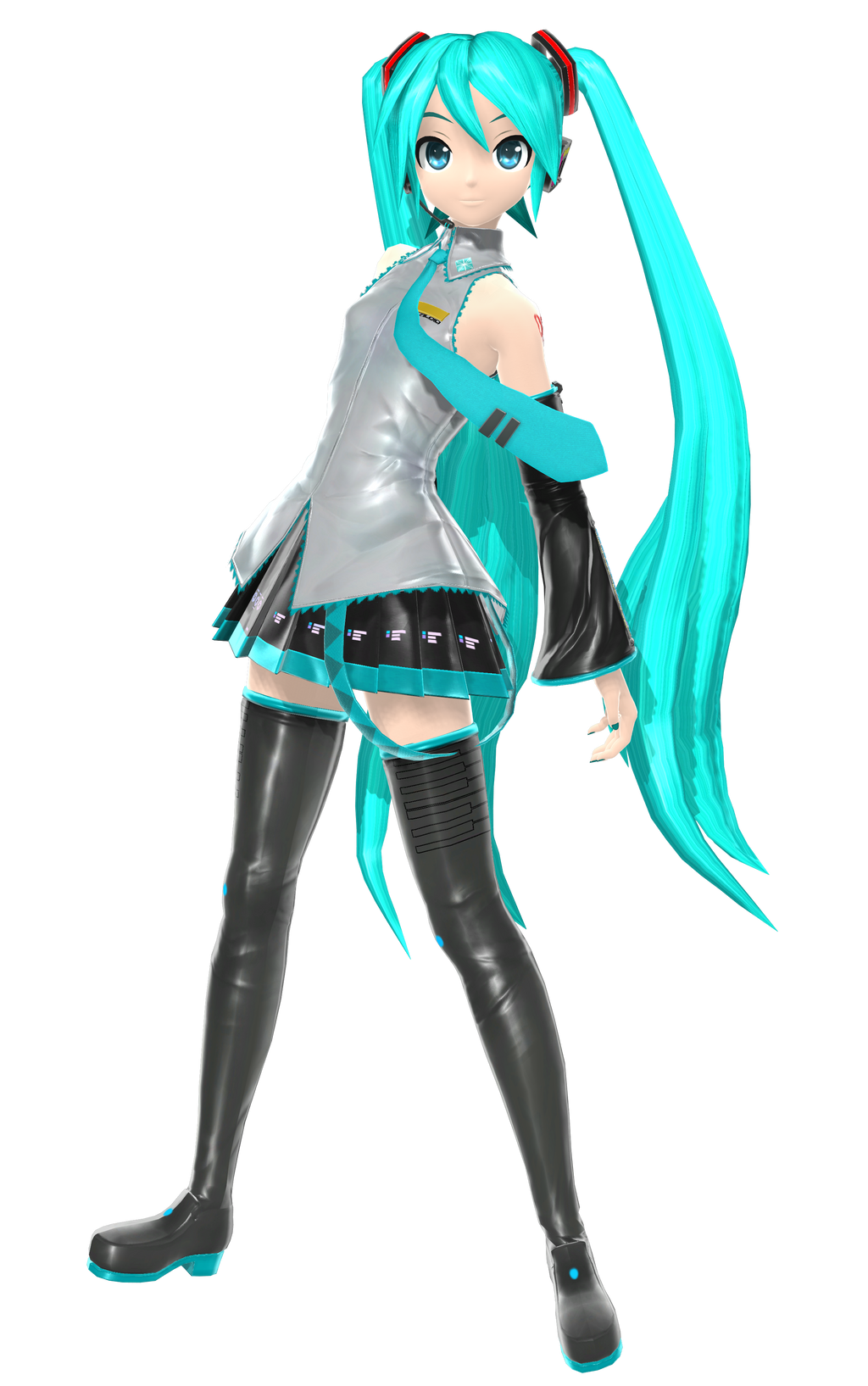 Pda Hatsune Miku Sega   By Johnjan On Deviantart