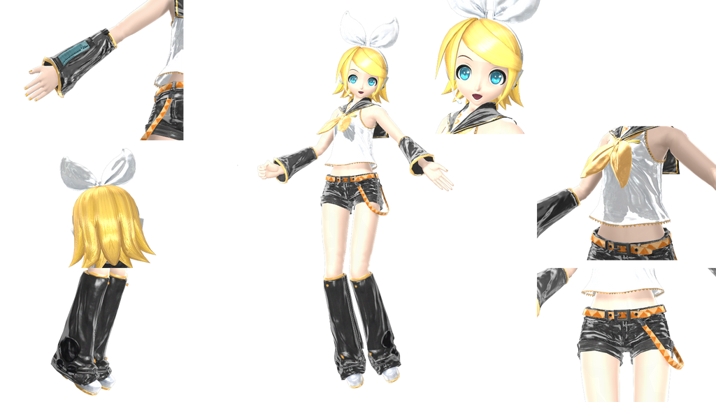 Rin Project Diva Outfits Pictures to Pin on Pinterest ...