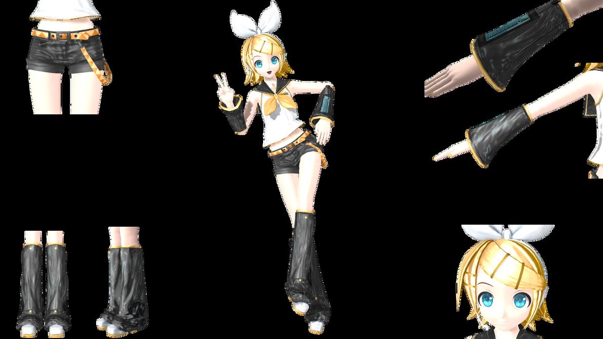 Kagamine Rin Meltdown Project Diva Project Diva Arcade Kagamine