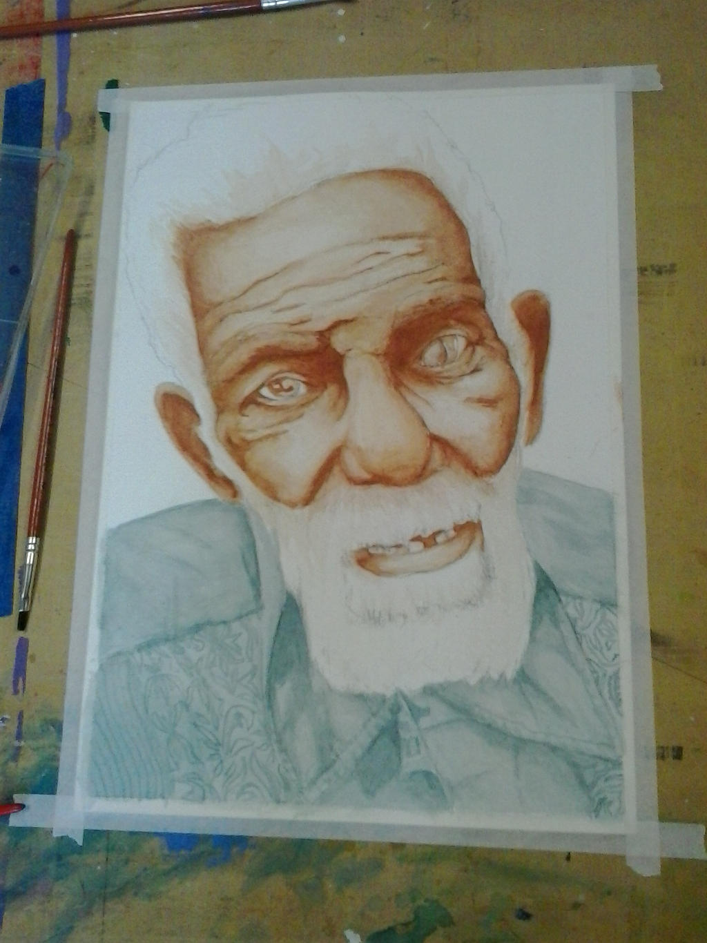 Old Man - In process