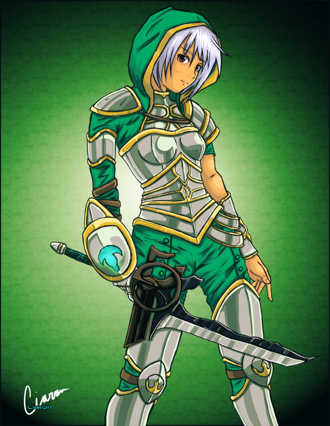 Redeemed Riven, the Exile:  by ciarannihill on DeviantArt