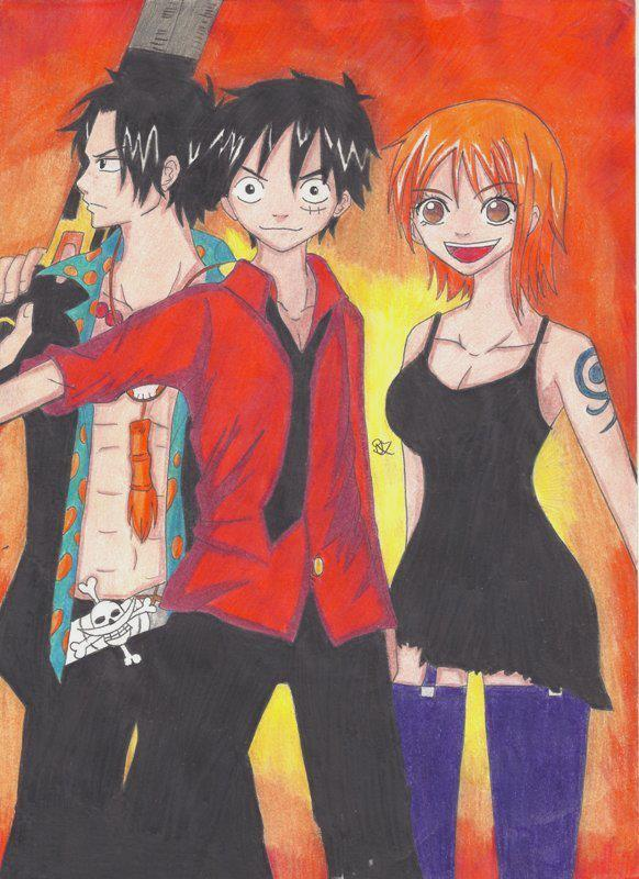 One Piece Strong World by Lucy-chan90