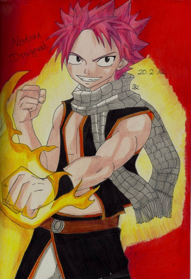 Natsu Dragneel Fairy Tail by Lucy-chan90