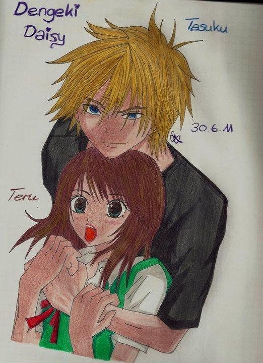 Tasuku Teru Dengeki Daisy by Lucy-chan90