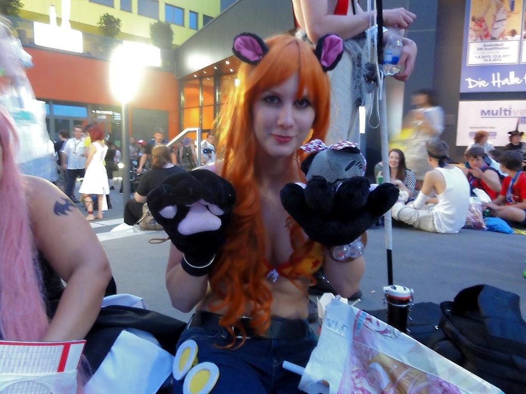 Cat Burglar Nami One Piece Cosplay Punk Hazard by Lucy-chan90
