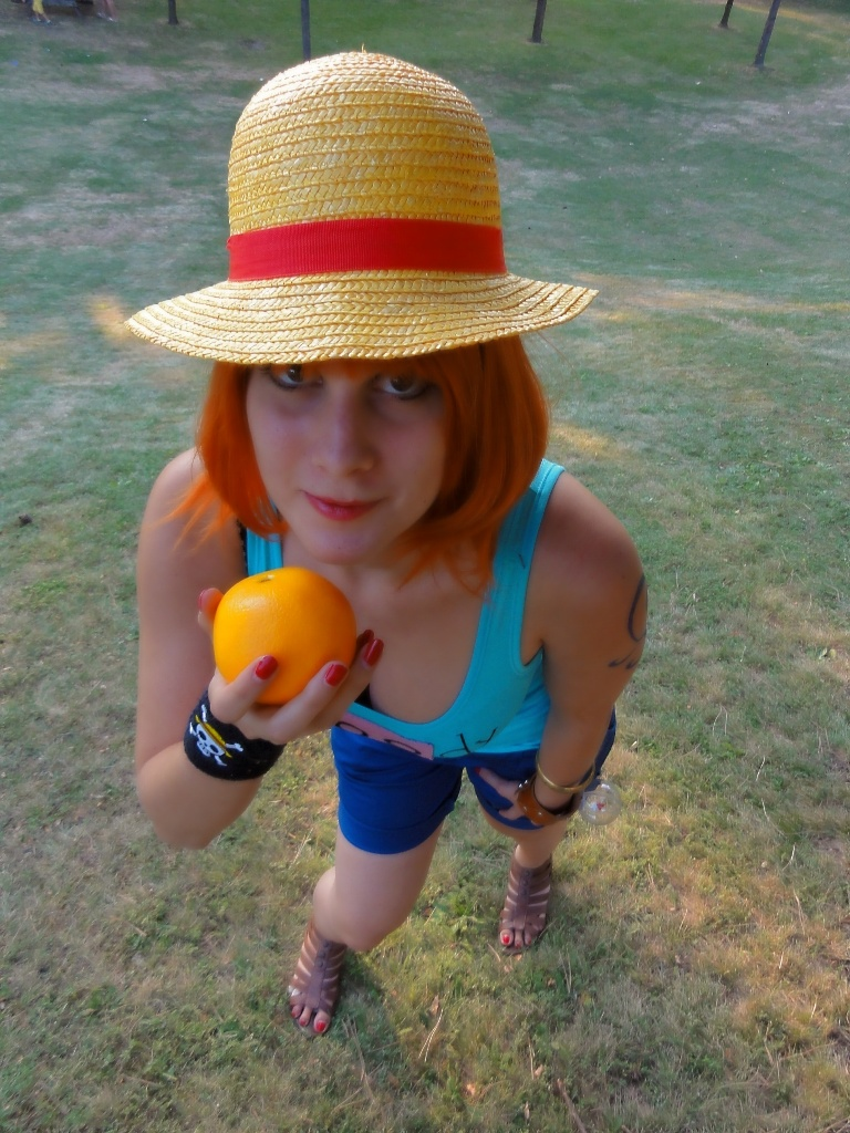 Nami One Piece Weatheria Cosplay by Lucy-chan90