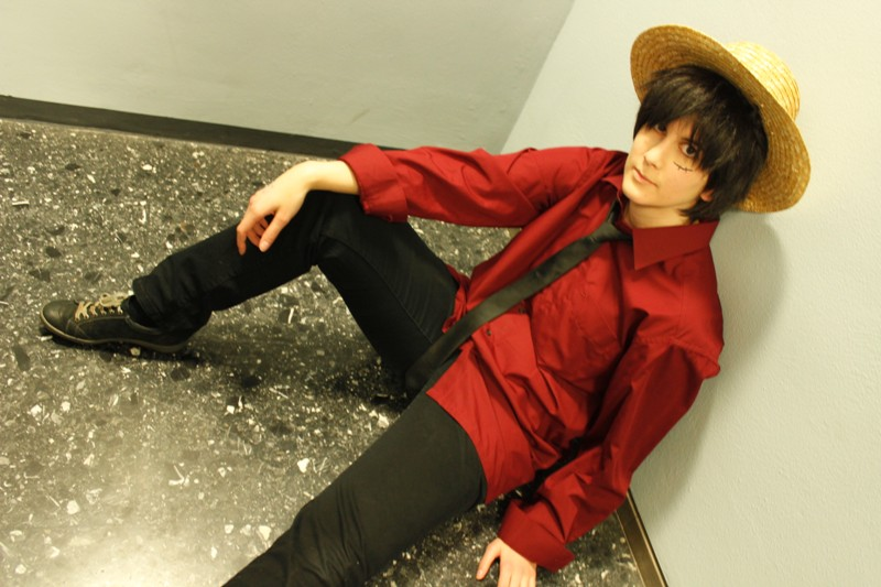 Luffy Cosplay Strong World One Piece by Lucy-chan90