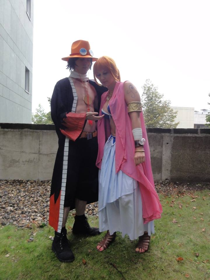 Nami and Ace Alabasta Cosplay by Lucy-chan90