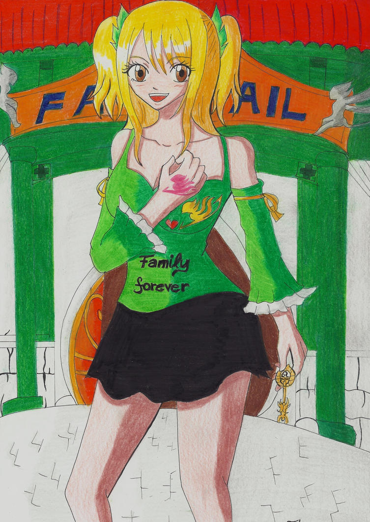Lucy Fairy Tail by Lucy-chan90