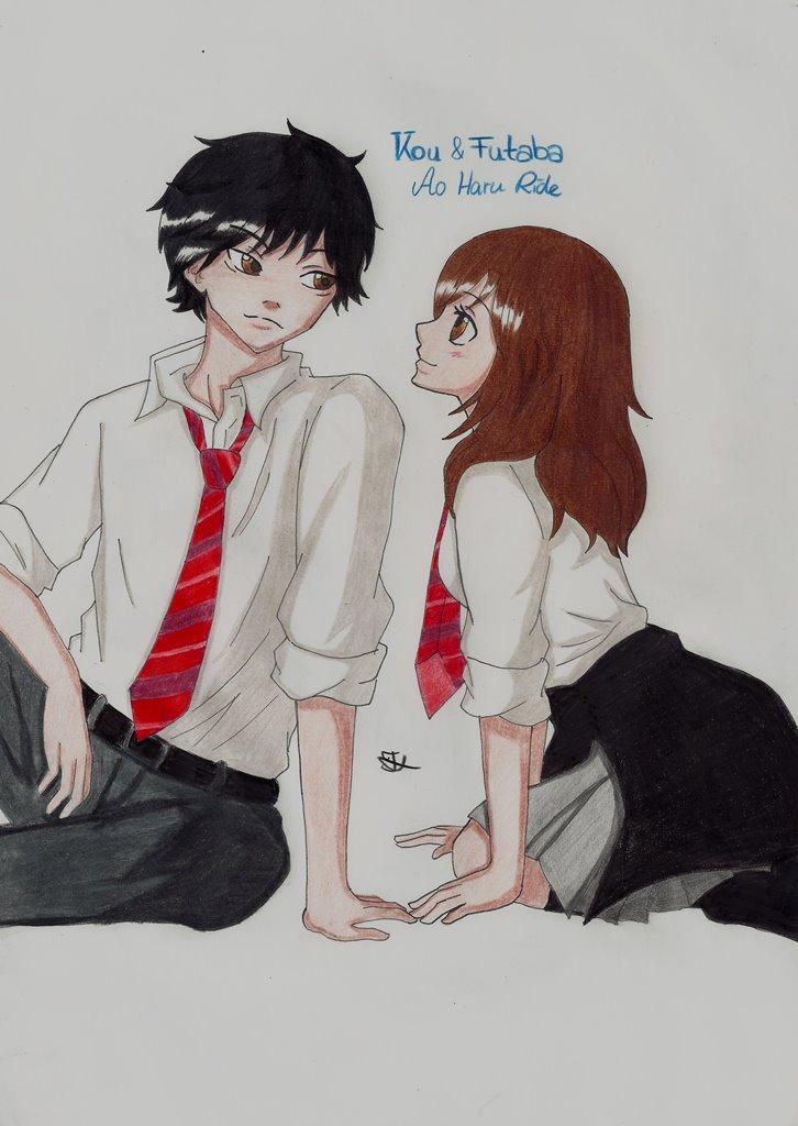 Ao Haru Ride Futaba Kou by Lucy-chan90