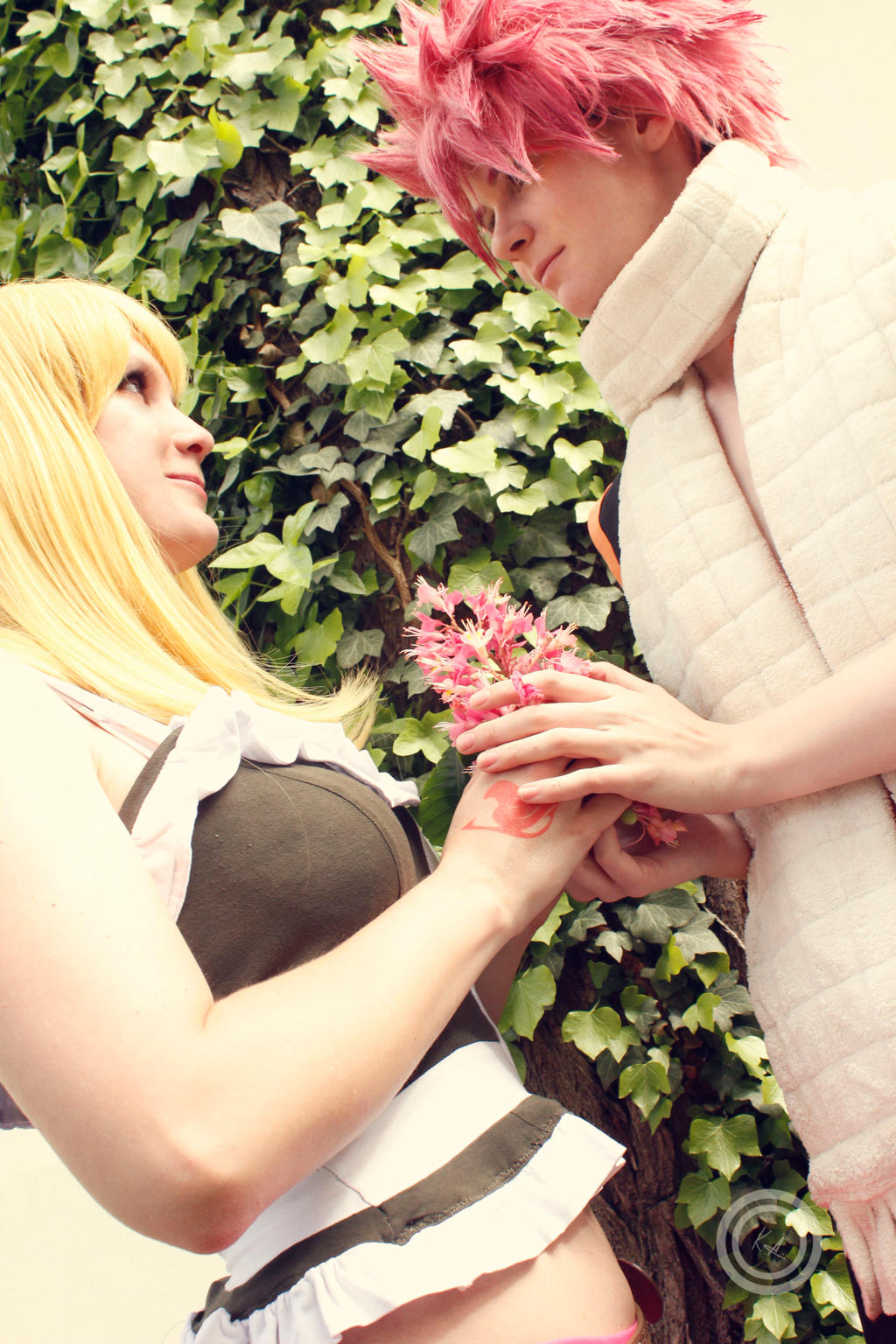 NaLu Natsu and Lucy Fairy Tail by Lucy-chan90