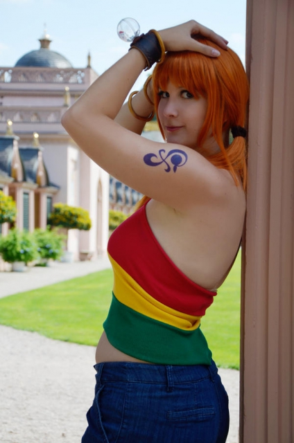 Nami Strong World One Piece by Lucy-chan90