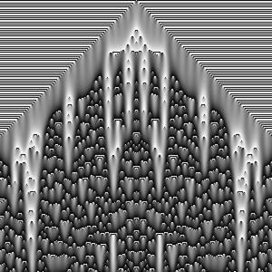 Continuous Cellular Automata k=2.6785715 h=495.0