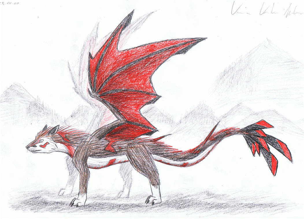 #6 How To Draw A Dragon Wolf