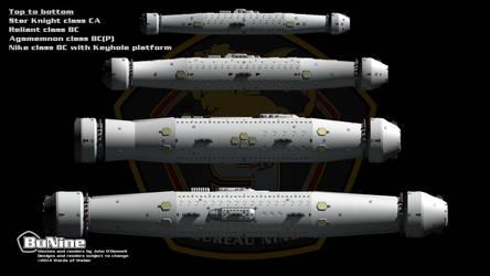 BattlecruisersWith StarKnightHeavyCruiser 001