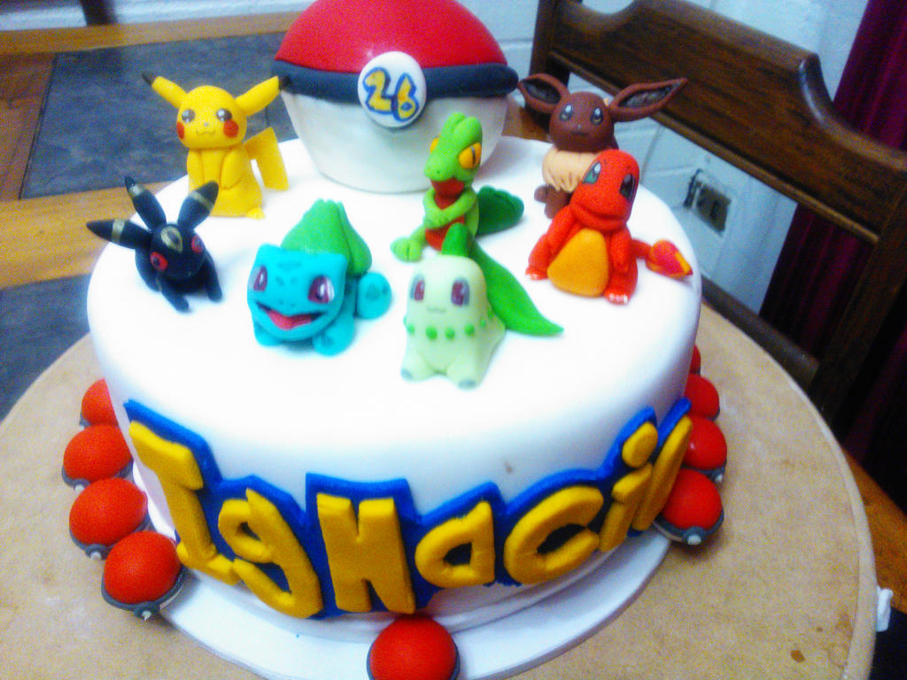 How To Make Pokemon Cake Toppers