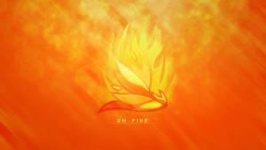 On fire - Wallpaper