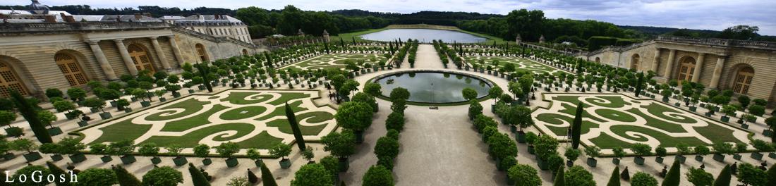 Gardens Of Chateau De Versai By Logosh L ...