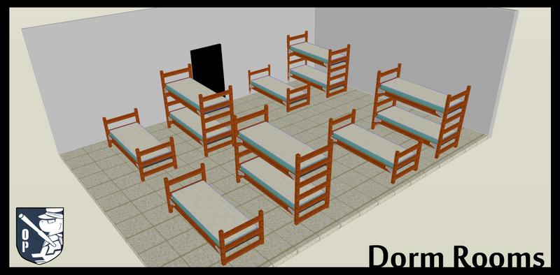 PLUSH - Dorm Rooms by chubird