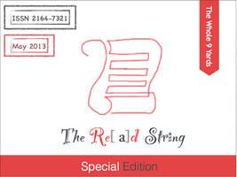 The Red String Cover Design by Mabogunje