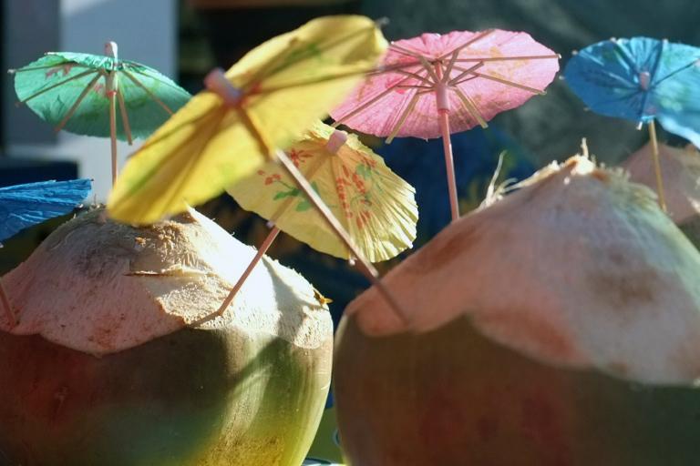 Shady Coconuts by foreyesrevuk